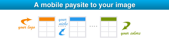 White label mobile paysite